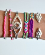 Designs Of Party Arm Bracelets 2014 For Girls 0016