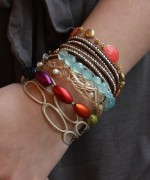 Designs Of Party Arm Bracelets 2014 For Girls 003