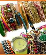 Designs Of Party Arm Bracelets 2014 For Girls 004