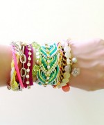 Designs Of Party Arm Bracelets 2014 For Girls 02