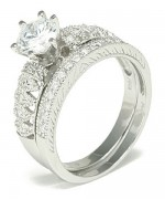 Designs Of Silver Wedding Rings With Diamonds 0015