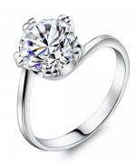 Designs Of Silver Wedding Rings With Diamonds 002