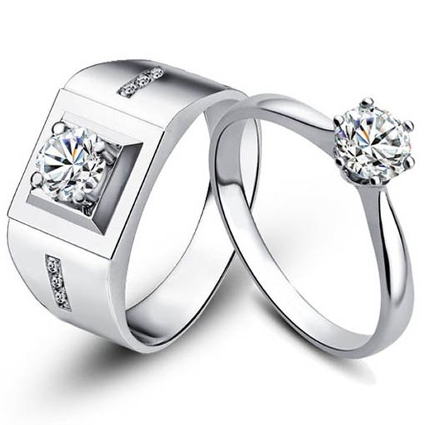 Designs Of Silver Wedding Rings With Diamonds 003