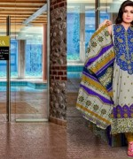 Embroidered Lawn Dresses Trend 2014 For Women  001