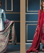 Embroidered Lawn Dresses Trend 2014 For Women 0011