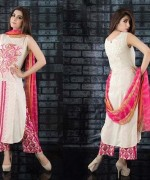 Embroidered Lawn Dresses Trend 2014 For Women 0012