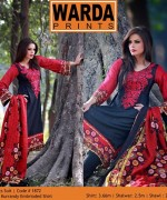Embroidered Lawn Dresses Trend 2014 For Women 0013