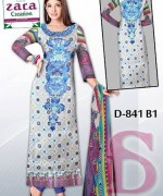 Embroidered Lawn Dresses Trend 2014 For Women 004