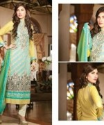 Embroidered Lawn Dresses Trend 2014 For Women 006