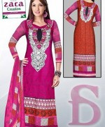 Embroidered Lawn Dresses Trend 2014 For Women 007