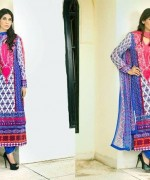Embroidered Lawn Dresses Trend 2014 For Women 008