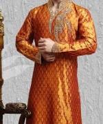 Embroidered Mehndi Dresses 2014 For Men 002