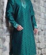 Embroidered Mehndi Dresses 2014 For Men 004