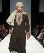 Embroidered Mehndi Dresses 2014 For Men