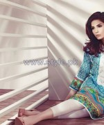 Ethnic by Outfitters Mid Summer Dresses 2014 For Girls 4