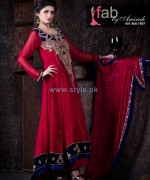 Fab by Amirah Embroidered Dresses 2014 For Women 1