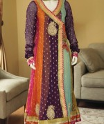 Fashion Of Angrakha Frocks 2014 For Women 0010