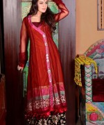 Fashion Of Angrakha Frocks 2014 For Women -003
