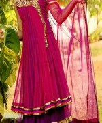 Fashion Of Angrakha Frocks 2014 For Women 005