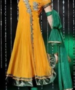 Fashion Of Angrakha Frocks 2014 For Women 006