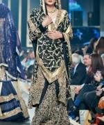 Fashion Of Bridal Dresses 2014 In Black Color 001