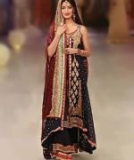 Fashion Of Bridal Dresses 2014 In Black Color 003