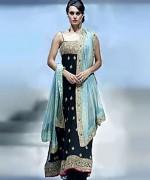 Fashion Of Bridal Dresses 2014 In Black Color 004