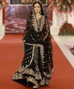 Fashion Of Bridal Dresses 2014 In Black Color 006