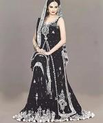 Fashion Of Bridal Dresses 2014 In Black Color 007