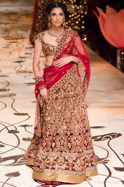 Fashion Of Indian Wedding Dresses 2014 For Women 002