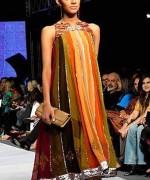 Fashion Of Multi Color Party Dresses 2014 For Pakistani Women 001