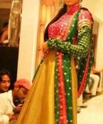 Fashion Of Multi Color Party Dresses 2014 For Pakistani Women 0012