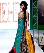 Fashion Of Multi Color Party Dresses 2014 For Pakistani Women 002