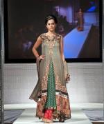 Fashion Of Multi Color Party Dresses 2014 For Pakistani Women 003
