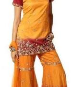 Fashion Of Sharara Mehndi Dresses 2014 For Women 003
