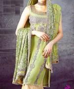 Fashion Of Sharara Mehndi Dresses 2014 For Women