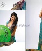 Ghani Kaka Textile Mid Summer Dresses 2014 For Girls 1