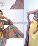 Ghani Kaka Textile Mid Summer Dresses 2014 For Girls 2