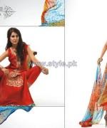 Ghani Kaka Textile Mid Summer Dresses 2014 For Girls 3