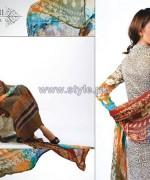 Ghani Kaka Textile Mid Summer Dresses 2014 For Girls 4