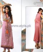 Ghani Kaka Textile Mid Summer Dresses 2014 For Girls 6