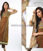 Ghani Kaka Textile Mid Summer Dresses 2014 For Women 10