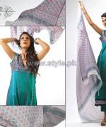 Ghani Kaka Textile Mid Summer Dresses 2014 For Women 11