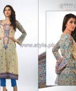 Ghani Kaka Textile Mid Summer Dresses 2014 For Women 8