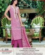 Gul Ahmed La Chiffon Dresses 2014 For Mid Summer 1