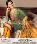 Gul Ahmed La Chiffon Dresses 2014 For Mid Summer 11