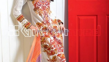 Gul Ahmed La Chiffon Dresses 2014 For Mid Summer 12