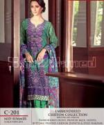 Gul Ahmed La Chiffon Dresses 2014 For Mid Summer 4