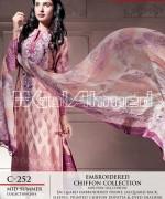 Gul Ahmed La Chiffon Dresses 2014 For Mid Summer 5