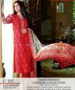 Gul Ahmed La Chiffon Dresses 2014 For Mid Summer 7